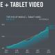Mobile video consumption keeps growing